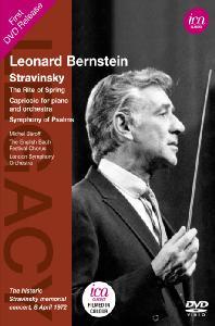THE RITE OF SPRING/ LEONARD BERNSTEIN [스트라빈스키: 봄의 제전, 시편교향곡, 피아노와 관현악을 위한 카프리초]