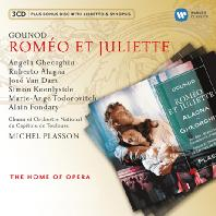 ROMEO ET JULIETTE/ MICHEL PLASSON [2CD+BONUS DISC] [THE HOME OF OPERA] [구노: 로미오 & 줄리엣]