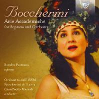 ARIE ACCADEMICHE FOR SOPRANO AND ORCHESTRA/ SANDRA PASTRANA, GIANPAOLO MAZZOLI [보케리니: 소프라노와 오케스트라를 위한 아리아 아카데미카]