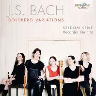GOLDBERG VARIATIONS/ SELDOM SENE RECORDER QUINTET [바흐: 골드베르크 변주곡 (리코더 오중주를 위한 편곡반) - 셀덤 세네 리코더 오중주단]