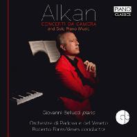 CONCERTI DA CAMERA AND SOLO PIANO MUSIC/ GIOVANNI BELLUCCI, ROBERTO FORES-VESES [알캉: 실내 협주곡, 독주 작품집]