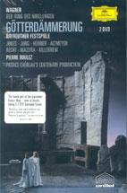 RICHARD WAGNER/ GOTTERDAMMERNG/ PIERRE BOULEZ (2 DVD)