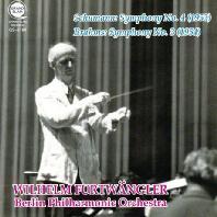 SYMPHONY NO.4 & SYMPHONY NO.3/ WILHELM FURTWANGLER [슈만: 교향곡 4번 & 브람스: 교향곡 3번 - 푸르트뱅글러]