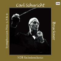 SYMPHONIEN NOS.7, 8 & 9/ CARL SCHRICHT [브루크너: 교향곡 7-9번 - 칼 슈리히트(육성 인터뷰 수록)]