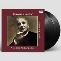 VIOLIN CONCERTO OP.77 & SYMPHONY NO.2/ BRUNO WALTER [브람스: 바이올린 협주곡, 교향곡 2번 - 브루노 발터] [LP]