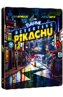 명탐정 피카츄 4K UHD+BD [스틸북 한정판] [POKEMON DETECTIVE PIKACHU]