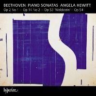 """PIANO SONATAS OP.2, 14, 53 """"WALDSTEIN""""/ ANGELA HEWITT [베토벤: 피아노 소나타 21번 <발트슈타인>ㅣ안젤라 휴이트]"""