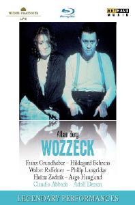 WOZZEK/ CLAUDIO ABBADO [LEGENDARY PERFORMANCES] [베르크: 보첵]