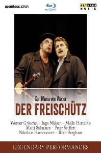 DER FREISCHUTZ/ NIKOLAUS HARNONCOURT [LEGENDARY PERFORMANCES] [베버: 마탄의 사수]