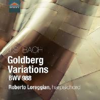GOLDBERG VARIATIONS BWV 988/ ROBERTO LOREGGIAN [바흐: 골드베르크 변주곡 - 로베르토 로레지안]