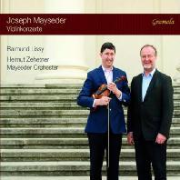 VIOLIN COCNERTO/ RAIMUND LISSY, HELMUT ZEHETNER [마이제더: 바이올린 협주곡 1, 3번, 바이올린 소협주곡 2번]