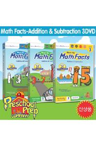 프리스쿨 프랩: 매쓰 팩트 3 [PRESCHOOL PREP: MATH FACTS - ADDITION & SUBTRACTION]