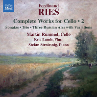 COMPLETE WORKS FOR CELLO 2/ MARTIN RUMMEL [리스: 첼로 작품 전곡 2집 - 마틴 룸멜]