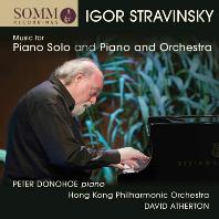 MUSIC FOR PIANO & ORCHESTRA/ PETER DONOHOE, DAVID ATHERTON [스트라빈스키: 피아노 음악 선집 - 피터 도노호, 데이빗 아더튼]