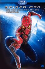 스파이더맨 트릴로지 박스세트 [SPIDER-MAN: THE HIGH DEFINITION TRILOGY] / [국내출시 정품/4disc/아웃박스 포함]