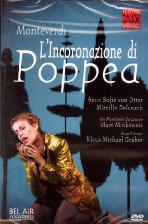 몬테베르디: 포페아의 대관식/ 오터/ 민코프스키 [<!HS>MONTEVERDI<!HE> L`INCORONAZIONE DI POPPEA/ MARC MINKOWSKI]
