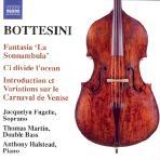 GIOVANNI BOTTESINI - FANTASIA `LA SONNAMBULA`/ THOMAS MARTIN/ ANTHONY HALSTEAD