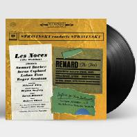 LES NOCES: THE WEDDING, RENARD, RAGTIME FOR ELEVEN INSTRUMENTS [LP]