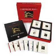 GREAT MOMENTS AT CARNEGIE HALL [카네기홀의 위대한 순간들: 개관 125주년 기념 실황 박스세트] [한정반]