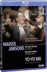 DON QUIXOTE & SYMPHONY NO.8/ YO-YO MA, MARISS JANSONS [리하르트 슈트라우스: 돈 키호테 & 드보르작: 교향곡 8번 - 요요마 & 얀손스]