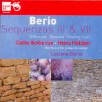 SEQUENZAS 3 & 7/ CATHY BERBERIAN, HEINZ HOLLIGER, JULLIARD ENSEMBLE