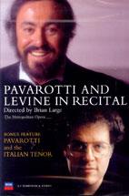 PAVAROTTI AND LEVINE IN RECITAL