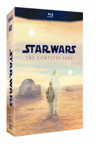 스타워즈: 컴플리트 사가 [STAR WARS: THE COMPLETE SAGA] (미개봉) 6disc+보너스3disc+소책자/아웃박스+스펙띠지 포함