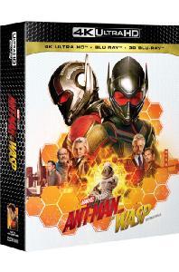 앤트맨과 와스프 [4K UHD+3D+2D] [스틸북 한정판] [ANT-MAN AND WASP]