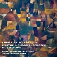 CELLO CONCERTOS/ CHRISTIAN POLTERA, TUOMAS HANNIKAINEN