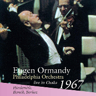 CONCERTO FOR ORCHESTRA, MATHIS DER MALER SYMPHONY/ EUGEN ORMANDY [LIVE IN OSAKA 1967] [바르톡: 관현악을 위한 협주곡, 힌데미트: 교향곡 화가 마티스 - 필라델피아 오케스트라, 유진 오먼디]