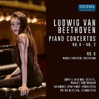 PIANO CONCERTOS NO.2/ SOPHIE-MAYUKO VETTER, PETER RUZICKA [베토벤: 피아노 협주곡 0, 2, 6번 - 소피 마유코 페터]