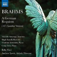 A GERMAN REQUIEM/ ANDREW LEWIS [브람스: 독일 레퀴엠(1871년 런던 버전)]