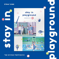 STRAY KIDS 2ND PHOTOBOOK [STAY IN PLAYGROUND]