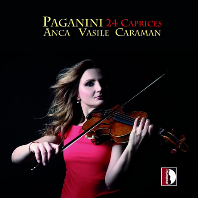 24 CAPRICES/ ANCA VASILE CAMARAN [파가니니: 24개의 광시곡 - 안카 바실레 카라만]