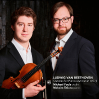 SONATAS FOR PIANO AND VIOLIN VOL.1/ MICHAEL FOYLE, MAKSIM STSURA [베토벤: 바이올린 소나타 1집 - 포일, 슈트슈라]
