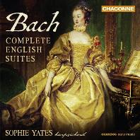 COMPLETE ENGLISH SUITES/ SOPHIE YATES [바흐: 영국 모음곡 전곡 - 소피 예이츠]