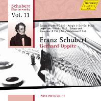 PIANO WORKS VOL.11/ GERHARD OPPITZ [슈베르트: 피아노 작품집 11 - 게르하르트 오피츠]