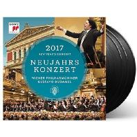 NEW YEAR'S CONCERT 2017/ GUSTAVO DUDAMEL [LP] [2017 빈 신년음악회 - 구스타보 두다멜] [한정반]