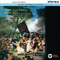 MUSIC OF SPAIN/ RAFAEL FRUHBECK DE BURGOS [UHQCD] [스페인 음악: 파야 불의 춤, 투리나 환상춤곡집, 알베니즈 이베리아 - 부르고스]