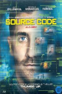 소스코드 [SOURCE CODE] [12년 4월 비디오여행 할인행사] / [초회 한정판] 포스터 엽서/아웃케이스 포함