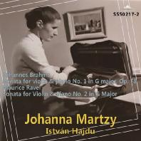 BRAHMS & RAVEL VIOLIN SONATAS/ ISTVAN HAJDU [브람스, 라벨: 바이올린 소나타 - 요한나 마르치]
