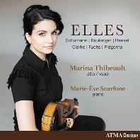 ELLES/ MARIE-EVE SCARFONE [클라라 슈만, 불랑제 외: 여성 작곡가들의 비올라 명곡집 - 마리나 티볼트]