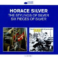 HORACE SILVER - THE STYLINGS OF SILVER+SIX PIECES OF SILVER