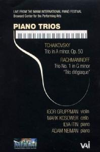 PIANO TRIOS/ IGOR GRUPPMAN, ILYA ITIN, MARK KOSOWER, ADAM NEIMAN [차이코프스키 & 라흐마니노프: 피아노 삼중주]