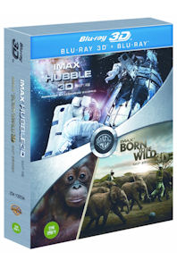   &    : 2D+3D [IMAX: HUBBLE & BORN TO BE WILD]