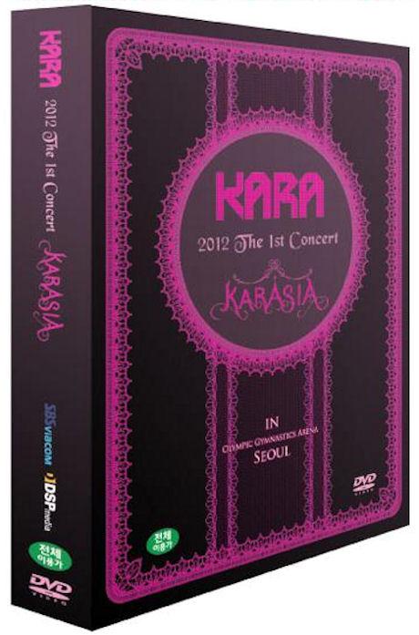 KARASIA: 2012 THE 1ST CONCERT IN SEOUL [3DVD+포토북] [카라 2012 서울 콘서트] [13년 8월 K-POP 프로모션]