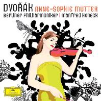 DVORAK VIOLIN CONCERTO/ MANFRED HONECK [안네 소피 무터: 드보르작 바이올린 협주곡]