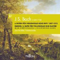 6 SUITE FOR VIOLONCELLO SOLO BWV 1007-1012/ JAN SCIFFER [바흐: 무반주 첼로 모음곡 전곡]