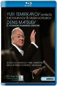 PIANO CONCERTO NO.2 & SHEHERAZADE/ <!HS>YURI<!HE> TEMIRKANOV [라흐마니노프: 피아노협주곡 2번 & 림스키-코르사코프: 세헤라자데 외]
