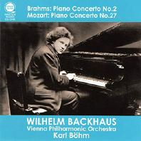 PIANO CONCERTO NO.2 & NO.27/ WILHELM BACKHAUS, KARL BOHM [브람스: 피아노 협주곡 2번, 모차르트: 피아노 협주곡 27번 - 박하우스, 칼 뵘]